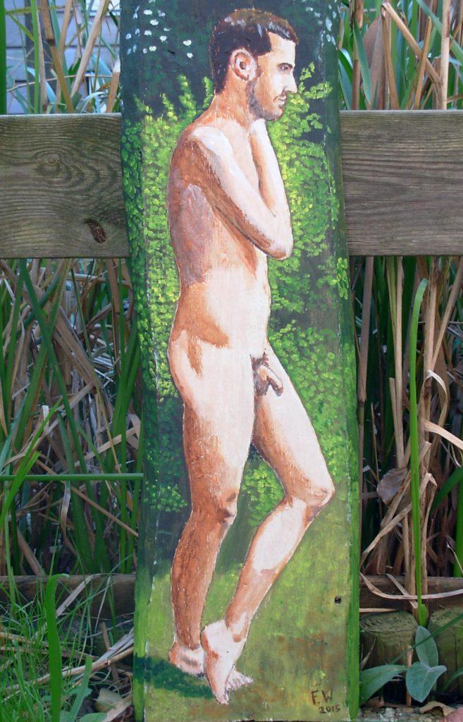 Mattia nel giardino 3