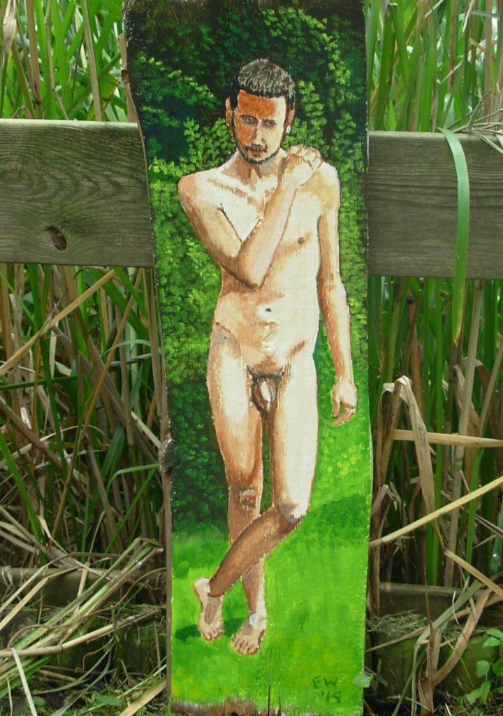 Mattia nel giardino 2
