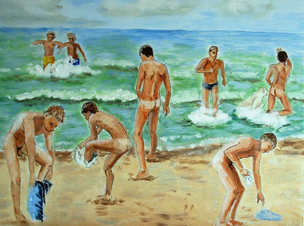 Jongens aan zee